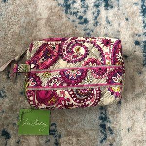 Vera Bradley Paisley Meets Plaid Cosmetic Bag